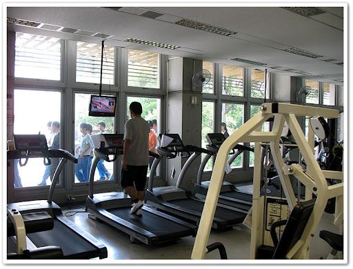 二樓健身中心