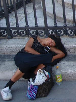 Una siesta después de ¿comer?