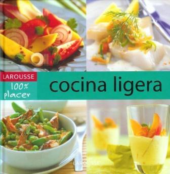 Portada del Libro:'Cocina Ligera'