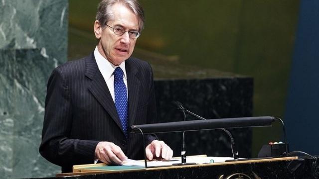 iulio Terzi di Sant'Agata, Italy's former Foreign Minister. Courtesy of
