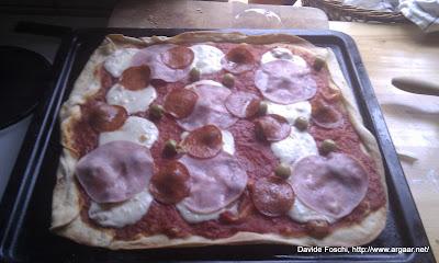 e la pizza...