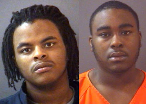 Andre Deon Johnson, 18, and Dennis Lamont James, 21 arrested for home invasion in Fishers, Indiana.