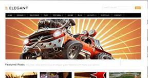 Elegant Free Premium Wordpress Theme
