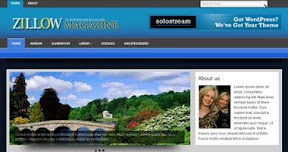 Free Wordpress Theme - ZILLOWMAG