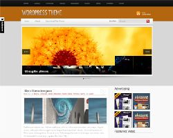 SimplyOrange Magazine WordPress Theme