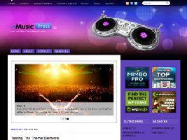 MusicPress Theme