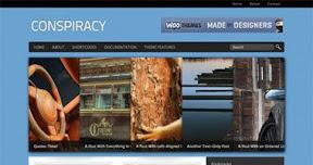 Conspiracy WordPress Theme