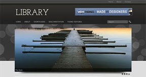 Library WordPress Theme