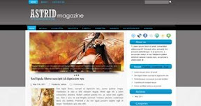 Free Wordpress Theme - Astrid