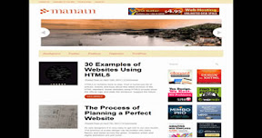 Manain Free Wordpress Theme