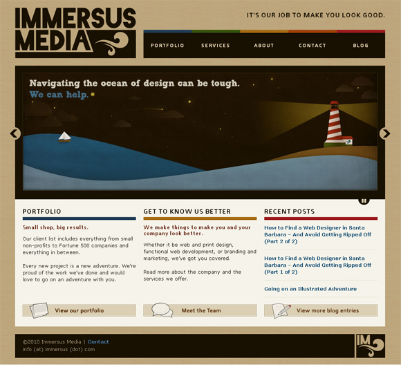 Immersus Media on Thesis Framework