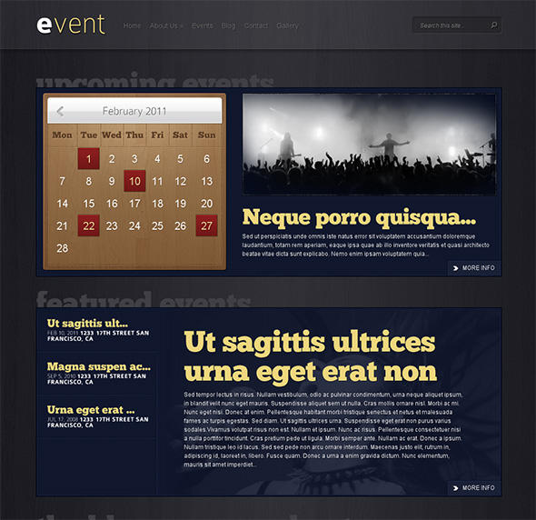 Event WordPress Theme for Bands and Musicians