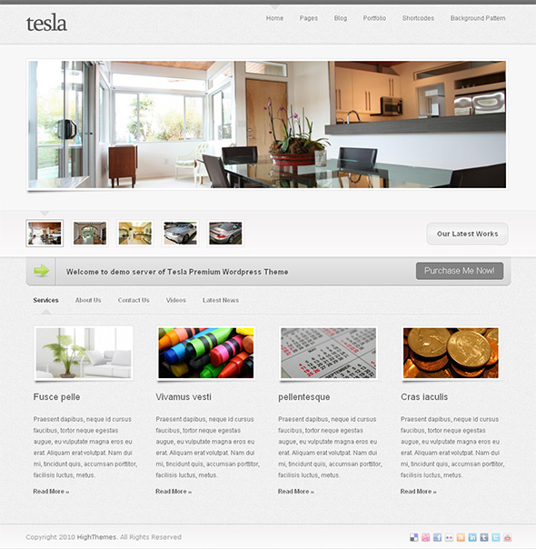 Tesla Professional WordPress Theme