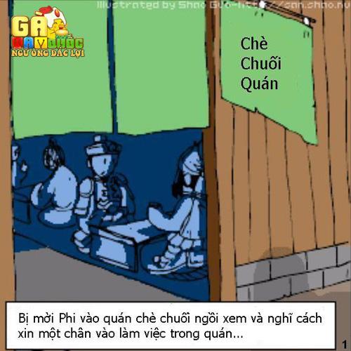 """""""Cười vỡ bụng"""" với truyện tranh chế của Gà Tam Quốc 14"""