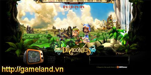 Dragonica phiên bản Việt ra mắt trang teaser 2