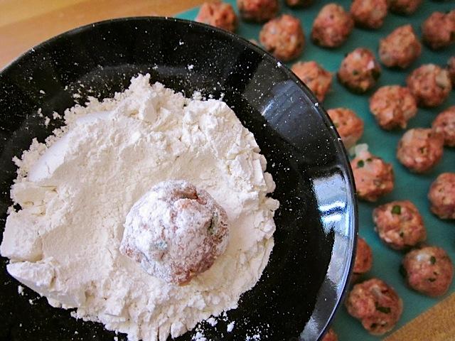 dredge meatballs