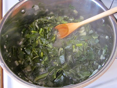 collard greens cook 2