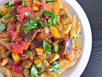 Image result for pasta caponata