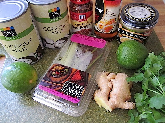 chicken coconut soup ingredients