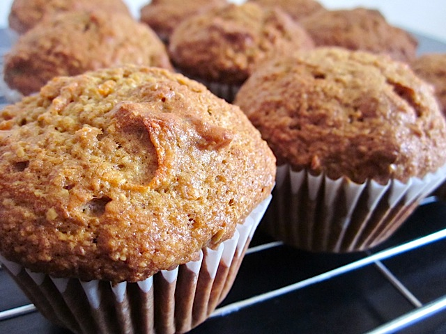 morning glory muffins - Budget Bytes