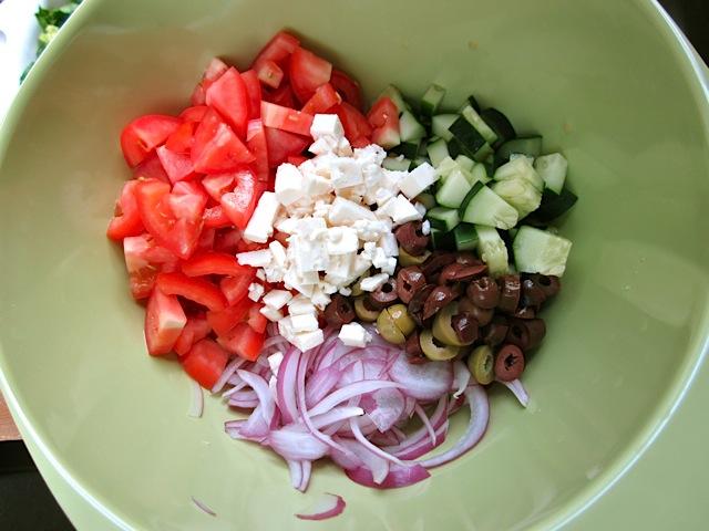 prepare vegetables