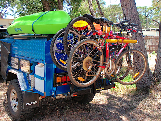 Popular Motorbike Rack To Suit Extreme 44 Or Extreme Adventure EMU Camper