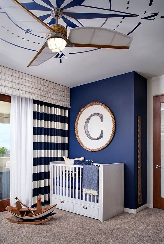 Chic-Styled Baby Boy Bedroom Ideas