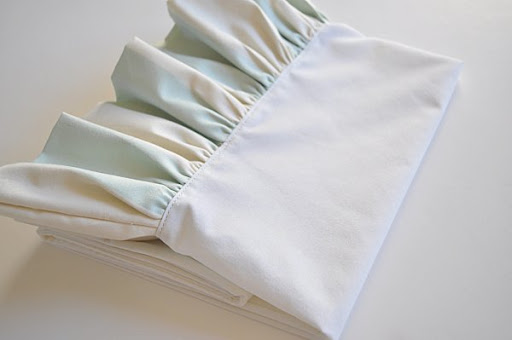 Folded Ruffle Pillowcase