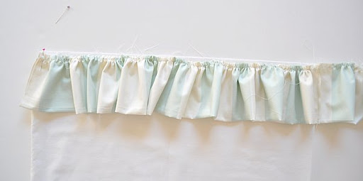 Ruffle Pinned to Pillowcase