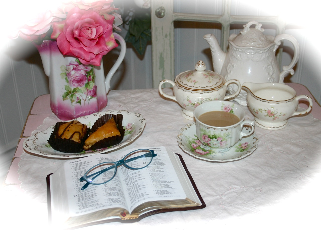 ~ My morning Tea Time ~