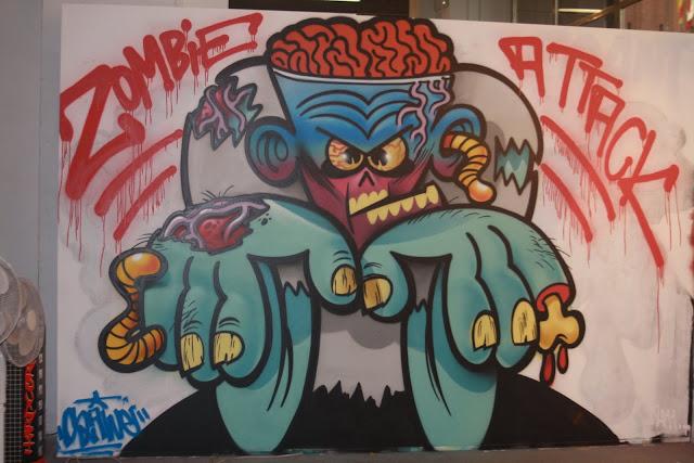 Graffitti Zombie