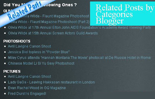 Related Posts by Categories