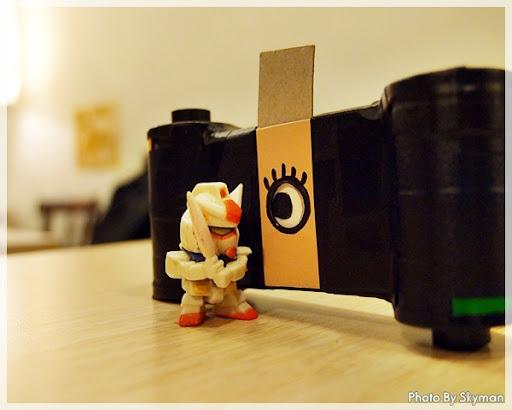 火材盒針孔LOMO照相機 DIY