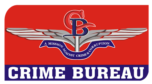 crime bureau logo. Black Bedroom Furniture Sets. Home Design Ideas
