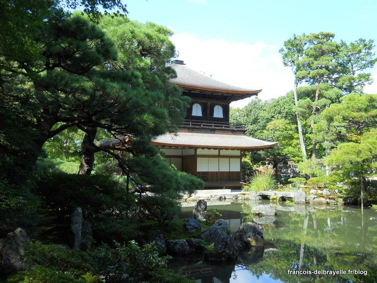 Ginkaku-ji à Kyoto, le pavillon d'argent