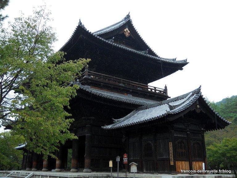 Porte Sanmon au temple Nanzen-ji