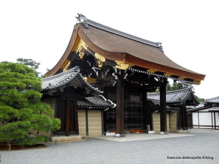 Palais Impérial de Kyoto - Porte Gishûmon