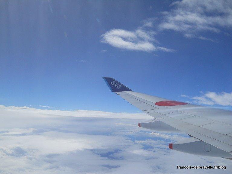 L'avion du retour vers la France