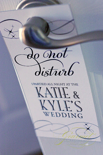 do not disturb tags, wedding do not disturb signs, do not disturb sign for wedding out of town basket, custom do not disturb