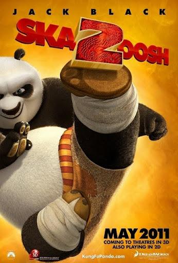 โปสเตอร์ Kung Fu Panda 2