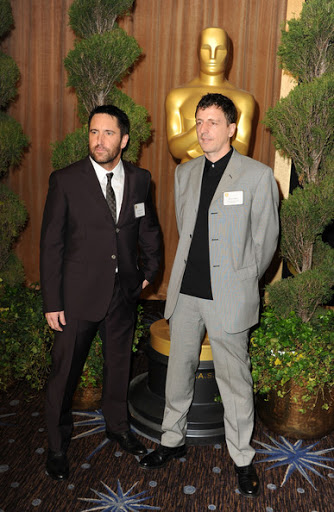 Trent Reznor และ Atticus Ross จากเรื่อง The Social Network