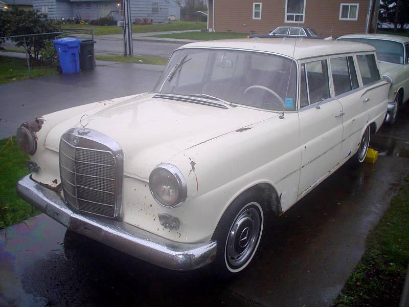 W110 wagon page 2 mercedes benz forum for Garage mercedes bron