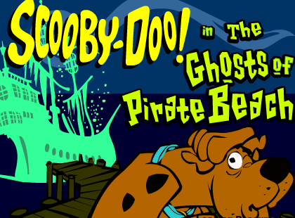 Cartoon Network Scooby-Doo The Ghosts of Pirate Beach Game
