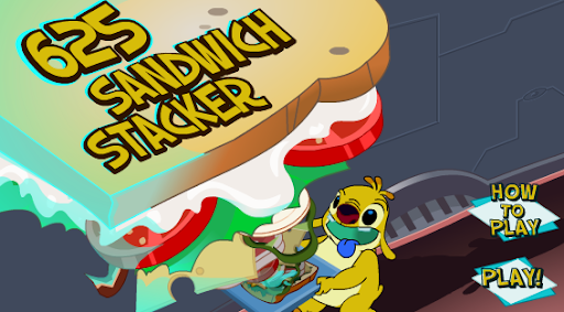 Disney Lilo & Stitch Sandwich Stacker Game