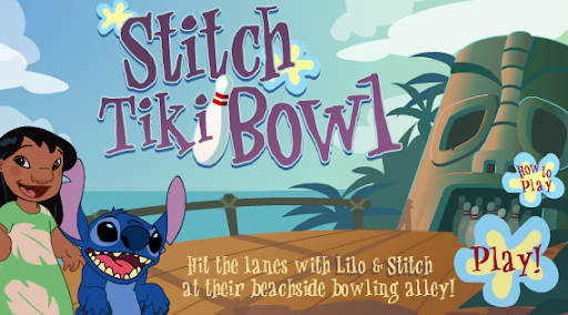 Disney Lilo & Stitch Tiki Bowl Game