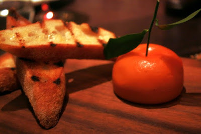 Meat fruit at Dinner by Heston Blumenthal in London