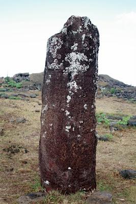 Easter Island female moai