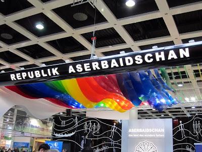 ITB Berlin Trade Show Azerbaijan pavilion