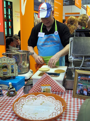 Stroopwaffles at the ITB Berlin Holland Pavilion