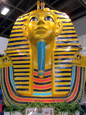 Sphinx at the ITB Berlin Egypt Pavilion